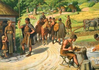Typical Bronze Age village