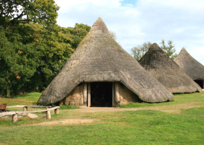 A typical Iron Age round-house
