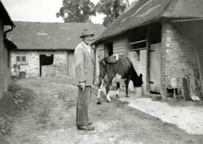 Cecil Browning, Hilldrop Farm in 1960