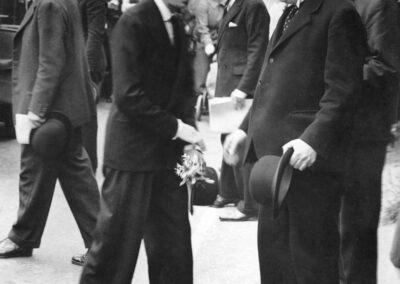 Duke of Kent visits Otford in 1936
