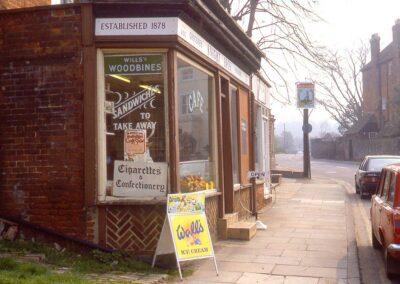 Mrs. Mac's shop, High Street 1988