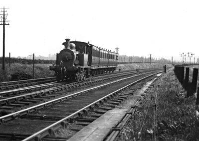 Otford to Sevenoaks shuttle service in May 1926