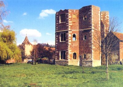 Palace and church in the late 1980s