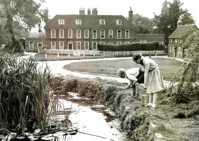 Pond dipping in 1950