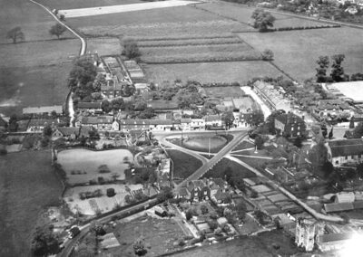 Pond in the late 1930s – the Heart of the Village