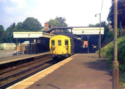 Sleepy Otford Station in 1971
