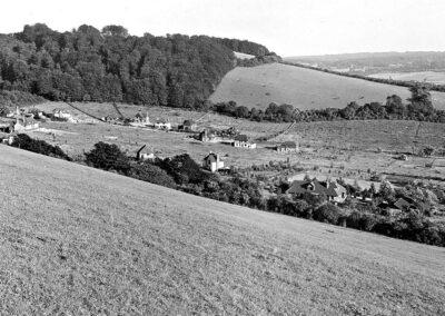 'The Horseshoe' to Otford's east 1935