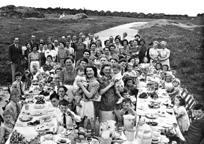 Tudor Drive VE Day Party 1945