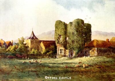 The picturesque Tower, labelled 'Otford Castle'