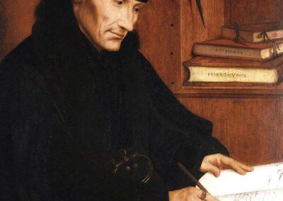Dutch philosopher Desiderius Erasmus