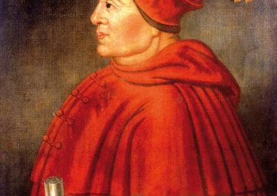 Warham's great rival Cardinal Thomas Wolsey