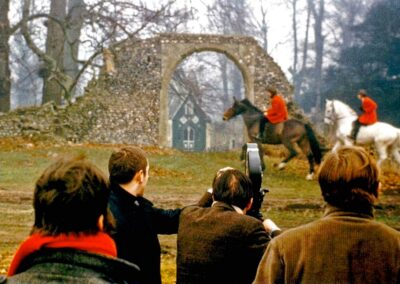 The Knole folly (once of Otford Palace) features in a Beatles music video
