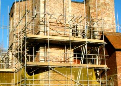 Tower scaffolding to access all areas