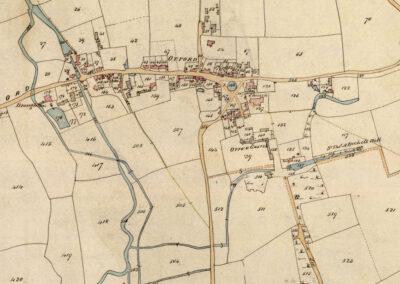 Otford Tithe Map c.1840s