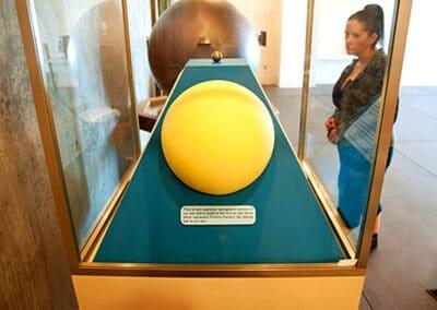 Represents Proxima Centauri (nearest-Star). It's in Los Angeles